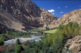 Ladakh - Markhavalley-Fluss