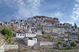 Ladakh-Kloster- Thiksey