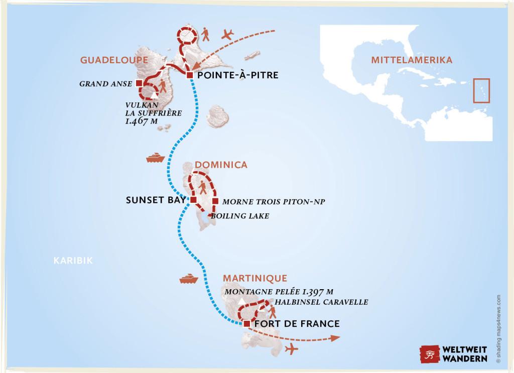Karibik Saint Marie