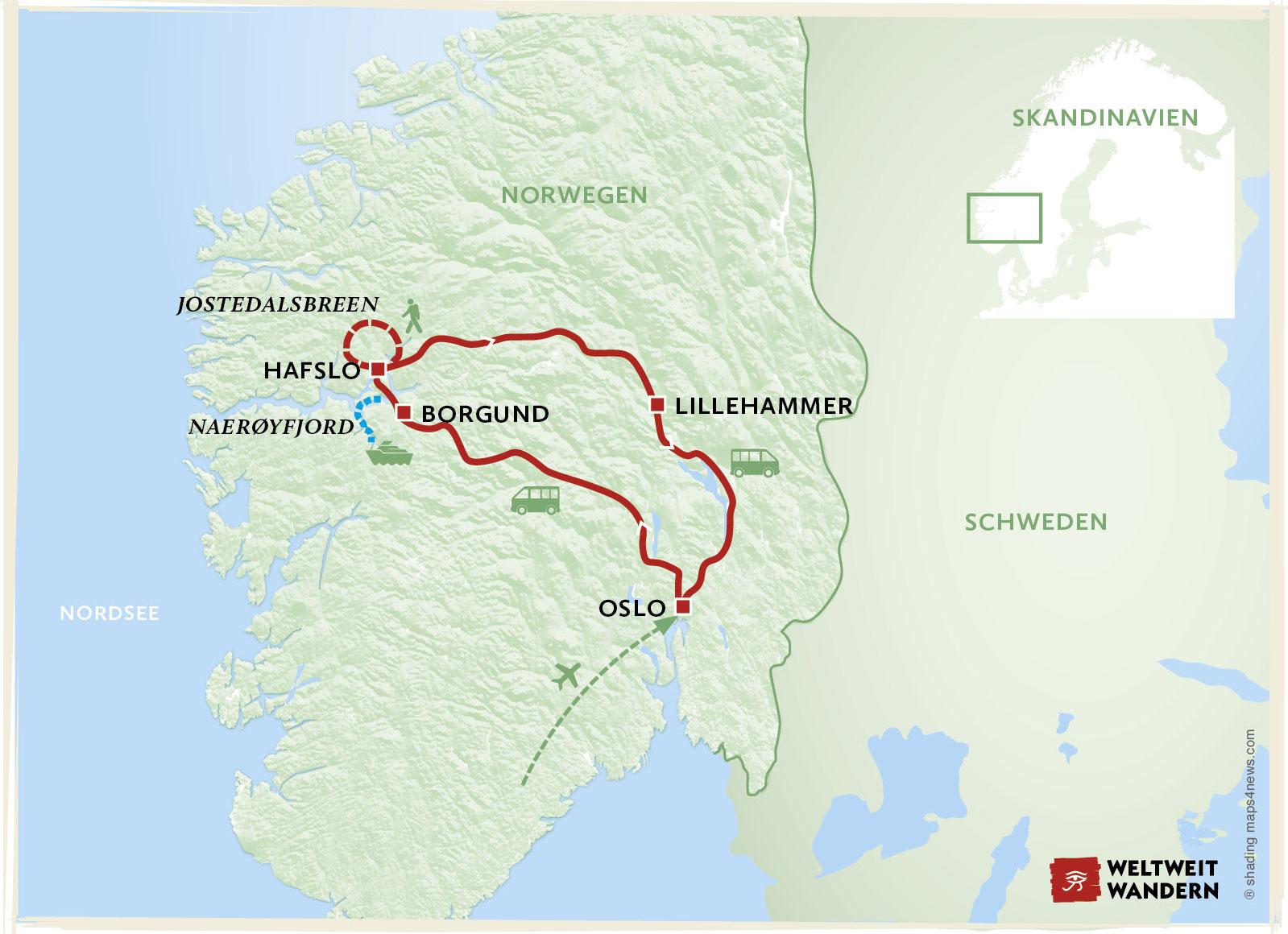 Europa Norwegen